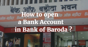 How to open a Bank Account in Bank of Baroda