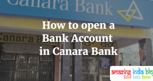 How to open a Bank Account in Canara Bank