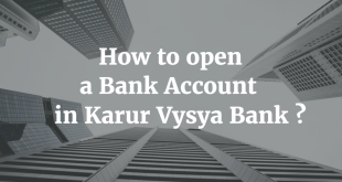 How to open a Bank Account in Karur Vysya Bank