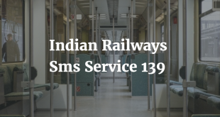 Indian Railways Sms Service 139