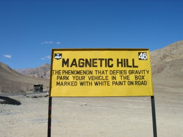 Image result for The Magnetic Hill Of Ladakh
