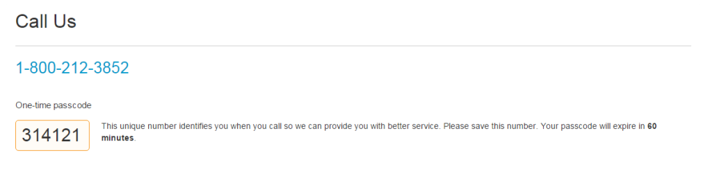 Updating Pan Number in Paypal by Call