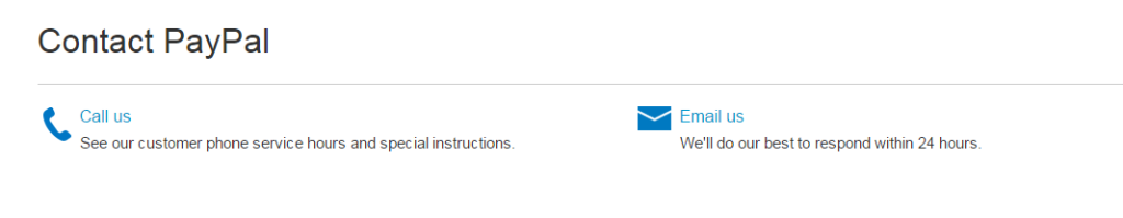 Updating Pan Number in Paypal by Call or Email