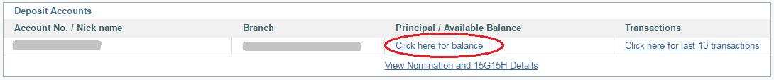 Check SBI Fixed Deposit Balance Online