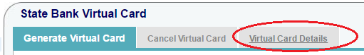 Check SBI Virtual Card Details