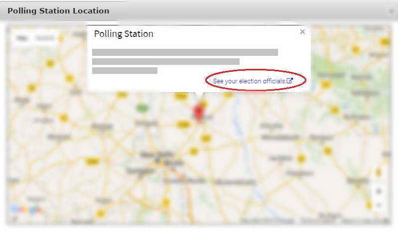 Election Polling Station
