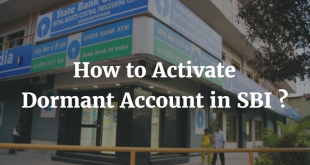 How to Activate Dormant Account in SBI