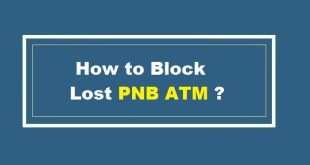 Block Lost PNB ATM Card