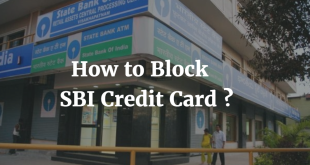 How to Block SBI Credit Card