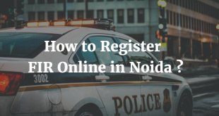 How to Register FIR Online in Noida