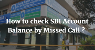 How to check SBI Account Balance by Missed Call