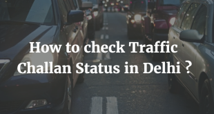 How to check Traffic Challan Status in Delhi