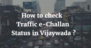 How to check Traffic e-challan Status in Vijaywada