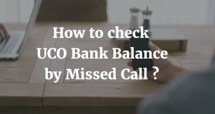 How to check UCO Bank Balance by Missed Call