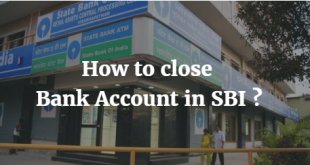 How to close Bank Account in SBI