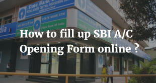 How to fill up SBI Account Opening Form Online