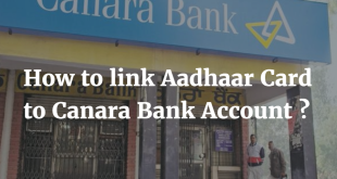How to link Aadhaar Card to Canara Bank Account