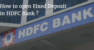 How to open Fixed Deposit in HDFC Bank