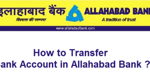 How to transfer Bank Account in Allahabad Bank