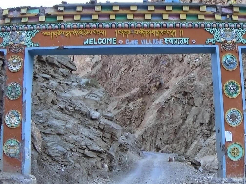Gue Village Entrance, Spiti