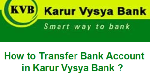 How to Transfer Bank Account in Karur Vysya Bank