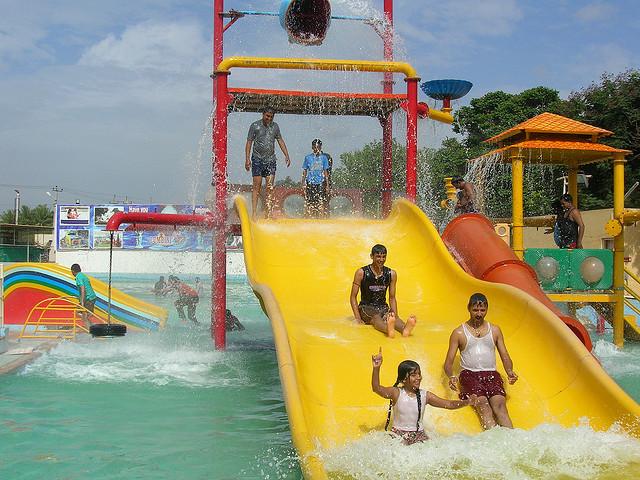 Lumbini Gardens Water Park, Bangalore