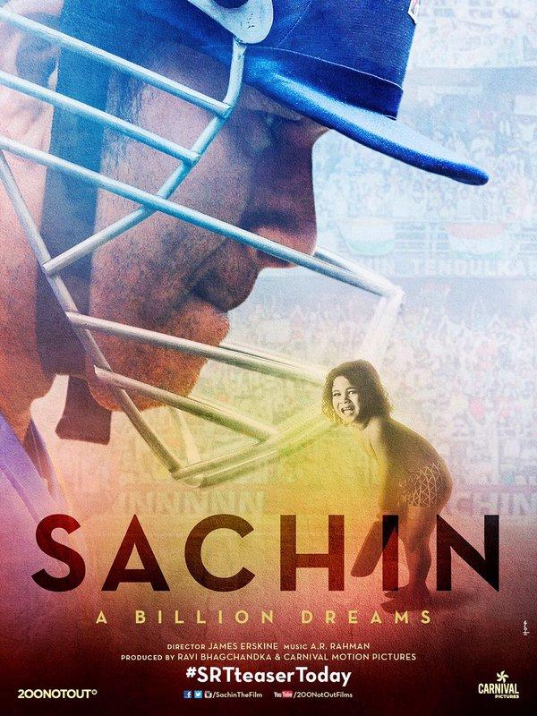 Sachin - A Billion Dreams Movie Poster