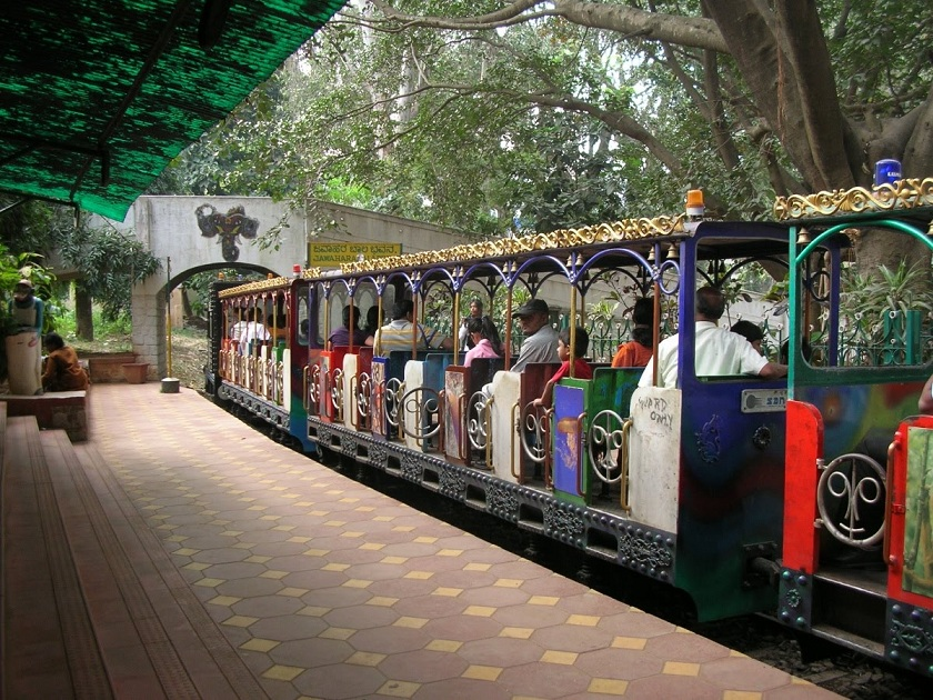Toy Train at Cubbon Park, Bangalore
