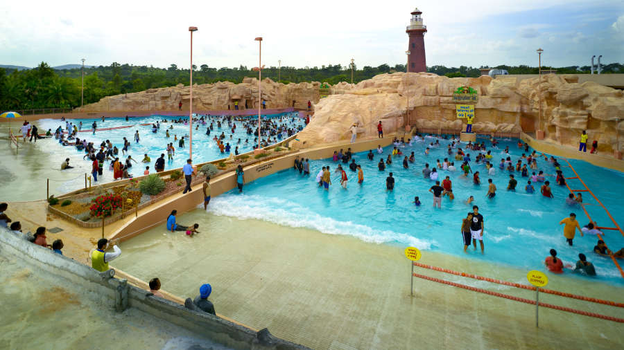 Top 5 water parks in bangalore ticket price location Resorts in bangalore with swimming pool