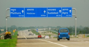 Best Road Route from Delhi to Mathura