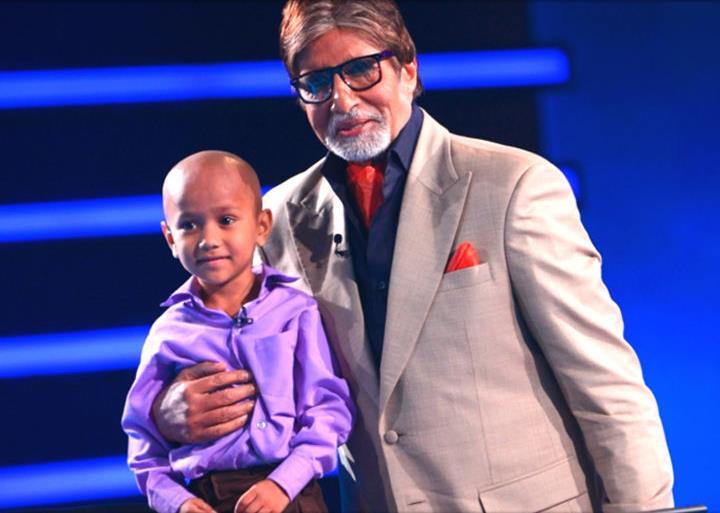 Kautilya Pandit with Amitabh Bachchan