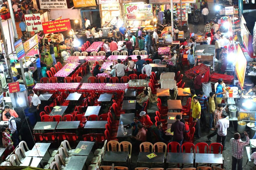Manek Chowk Street, Ahmedbad