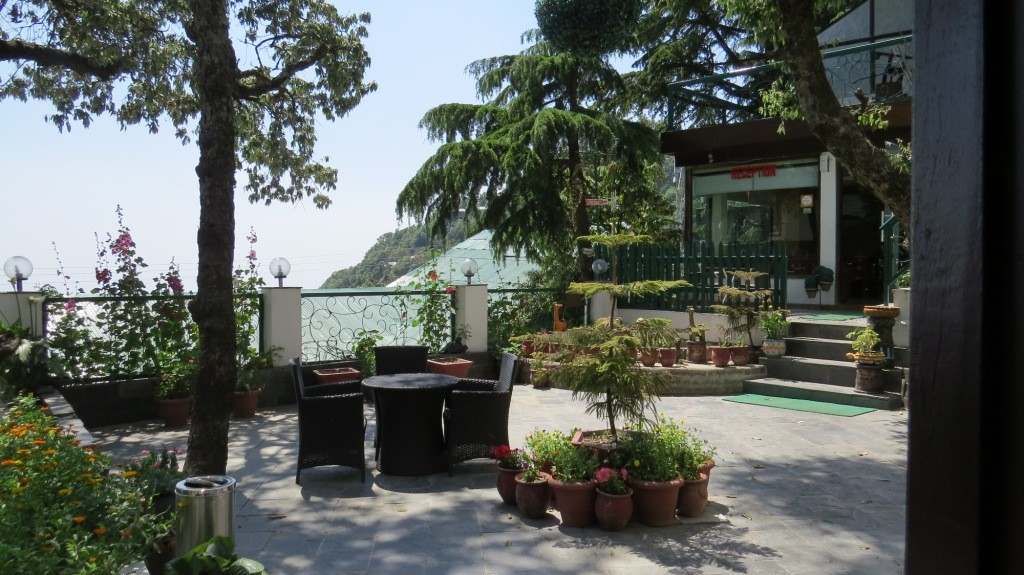 Open Area in Mongas Hotel, Dalhousie