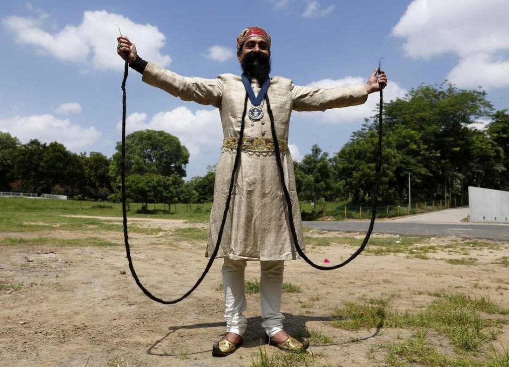 Ram Singh Chauhan Worlds Longest Moustache