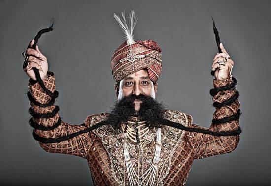 World's Longest Mustache, Ram Singh Chauhan