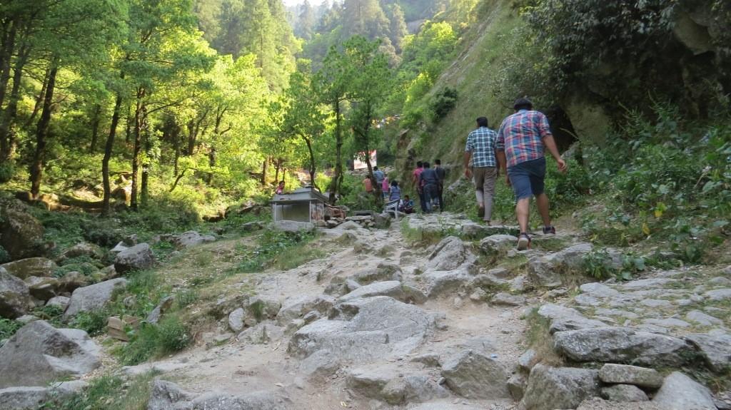 Trek to Satdhara Falls, Dalhousie