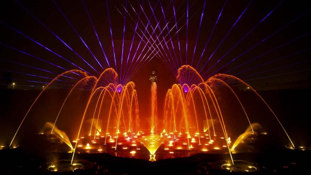 Akshardham New Delhi Water Show