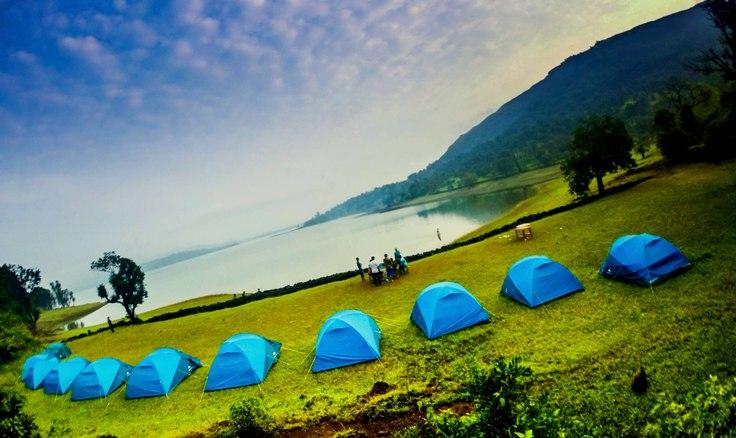 Camping in Bhandardara