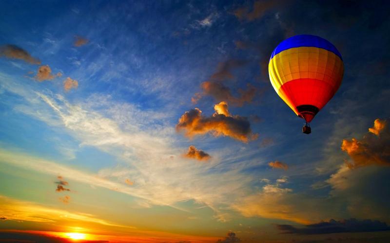 Hot Air Balloon in Hampi