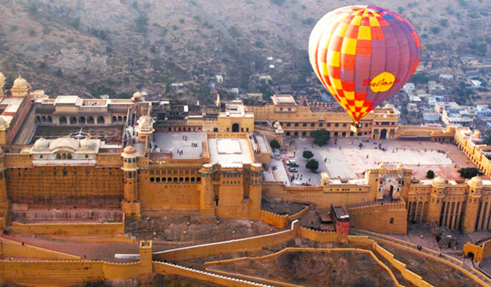 Hot Air Balloon in Jaipur
