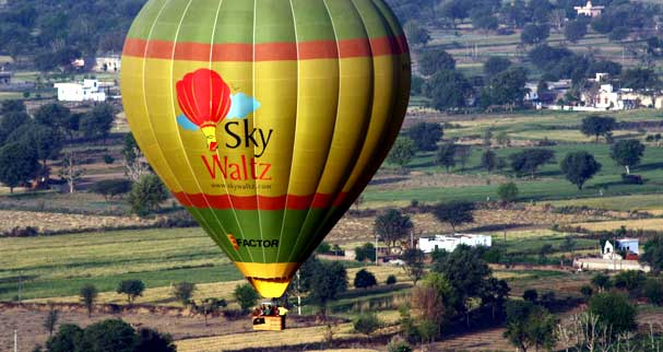 Hot Air Balloon in Lonavala