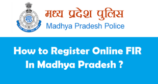 How to Register Online FIR in MP