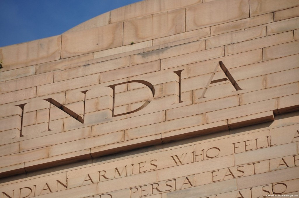 India Gate Close Up