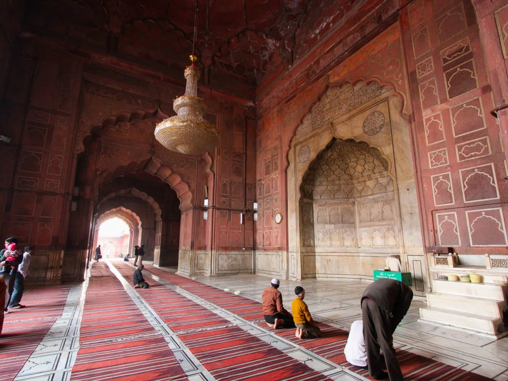 Jama Masjid Inside View