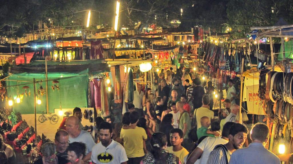 Arpora Saturday Night Market Goa