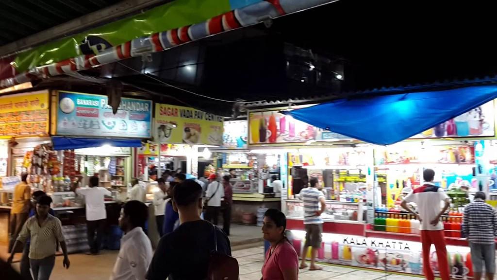 Food Stalls at Juhu Beach