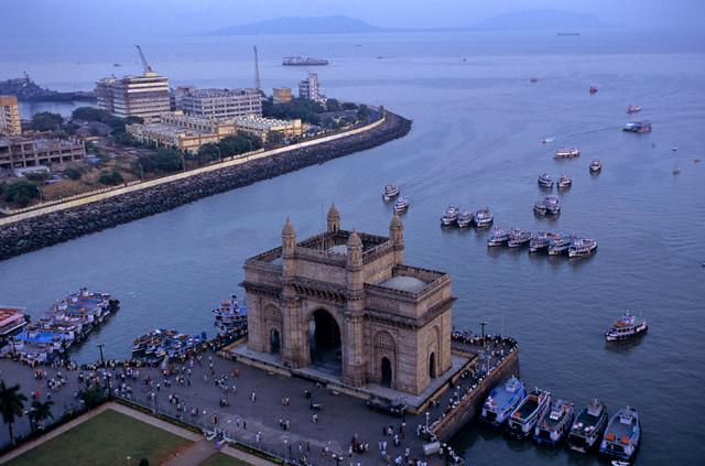 Gate of India in Mumbai