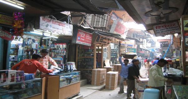 Latouche Road Market Lucknow