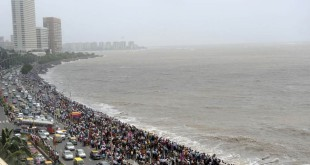 Marine Drive Crowd