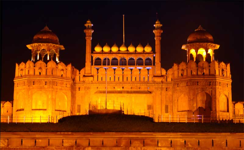 Red Fort Night View